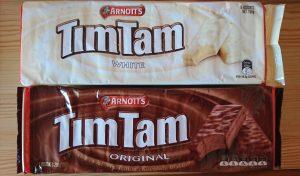 TimTamのオリジナルとホワイト