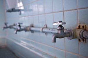 手洗い場の水道