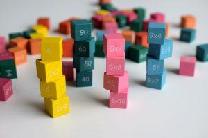 掛け算のキューブ