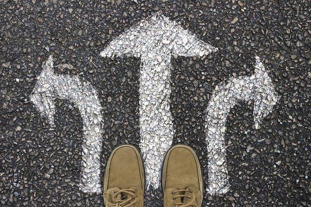 足元にある3つのベクトル